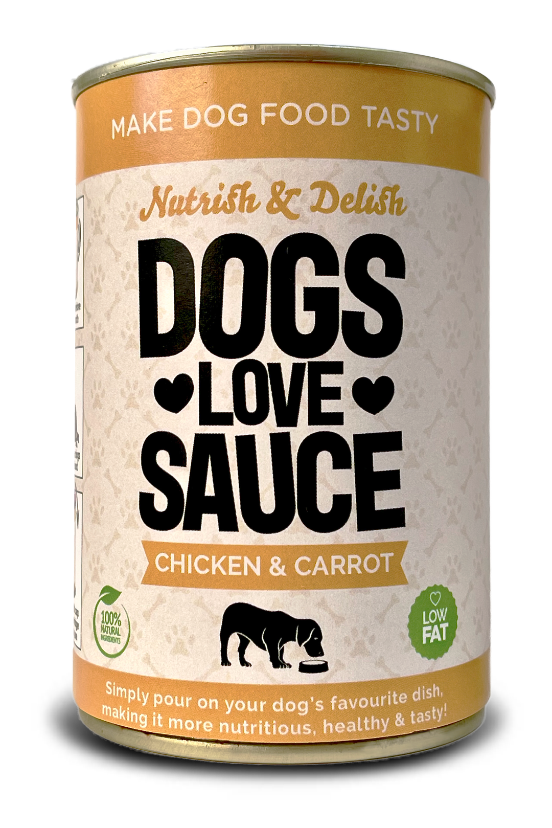Chicken and Carrot flavoured dry dog for pour over