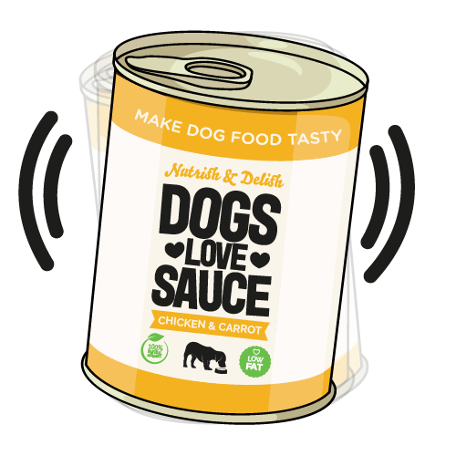 Dogs Love Sauce pour on sauce for dry food